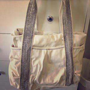 Kathy Von Zeeland white purse